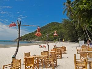 kerst rondreis Thailand: strand Ko Phangan