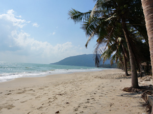 Khanom Thailand: lange zandstranden