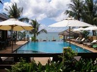 Thailand met kids - zwembad op Ko Samui