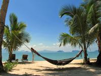 Thailand met kids - hangmat tropisch eiland zuid-Thailand