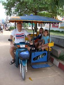 Thailand reisverslagen - samen in tuktuk