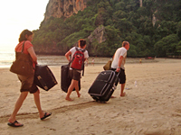 Tips vakantie Thailand - koffers