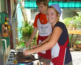 ThailandKids - koken Chiang Mai