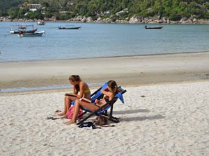 rondreis Thailand met tieners: Ko Samui strand