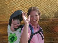 tips vakantie Thailand met kinderen - rugdrager