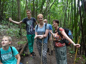 Khao Sok jungle - trekking