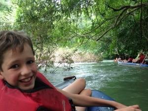 kerst rondreis Thailand: tuben khao sok