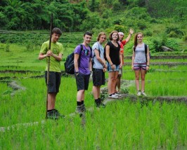 Thailand met tieners - trekking Noord-Thailand