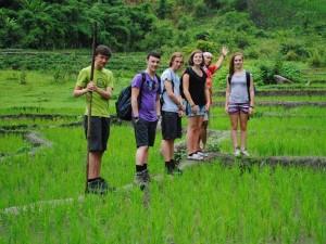 trekking Chiang Mai - Thailand met tieners
