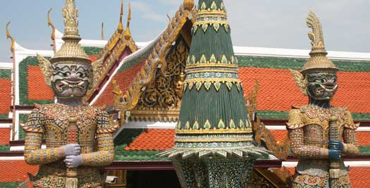 Tempels Bangkok reis