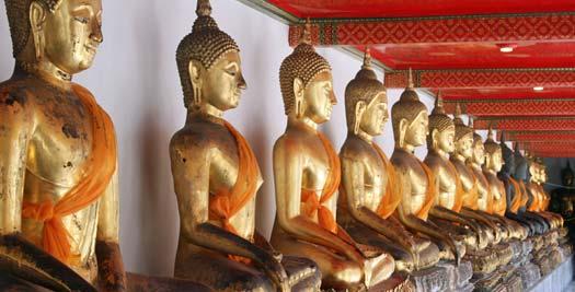 Rondreis Thailand: Buddha beelden