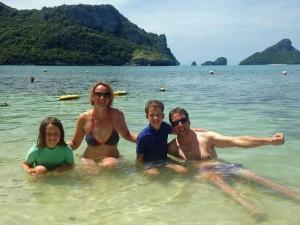 Kerst rondreis Thailand met kinderen - strand