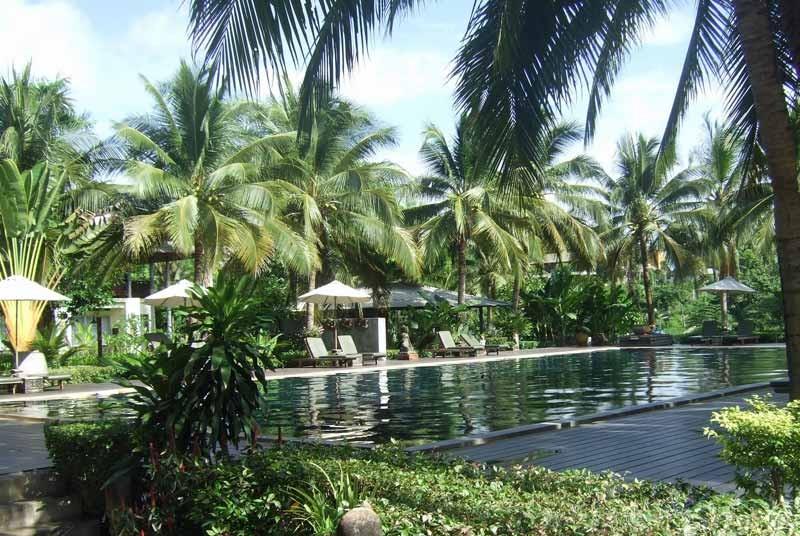 River Kwai resort Thailand reis