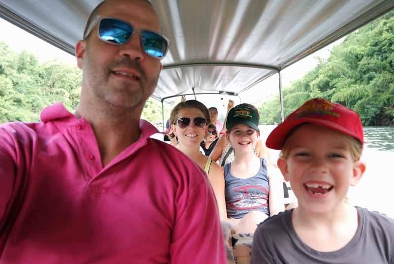 Vakantie Thailand - River Kwai