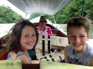 Familiereis door Thailand: River Kwai