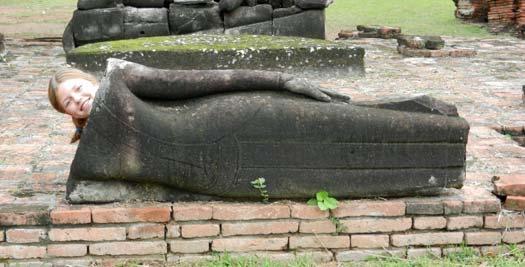 Tempels Ayutthaya - vakantie Thailand