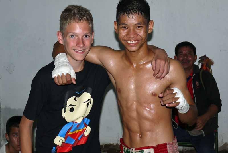 Thai boksen Thailand