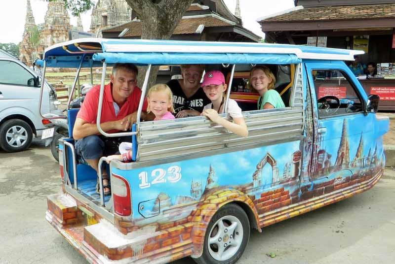 Transport tijdens je Thailand vakantie