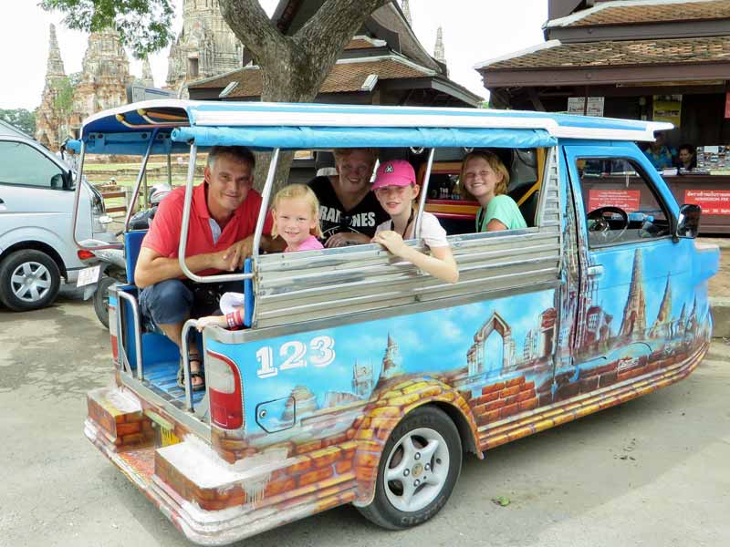Hoe reis je door Thailand met kinderen