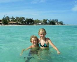 Tropische eilanden Zuid-Thailand met kinderen