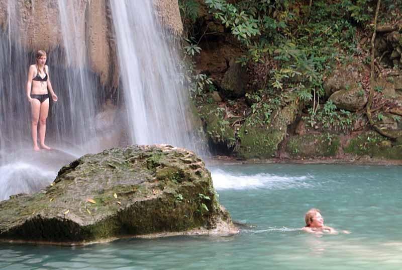 Waterval River Kwai - Thailand vakantie