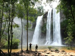 Gezinsreis Thailand - waterval