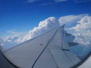 gezinsreis Thailand - vlucht