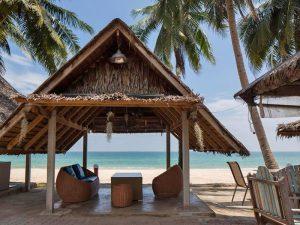 Slapen op een onbewoond eiland Thailand