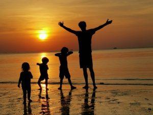 Sunset op de Thaise eilanden