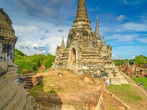 Tempels thailand