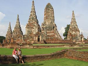Ayutthaya Rondreis door Thailand