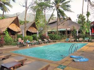 Zwembad Ko Chang Thailand