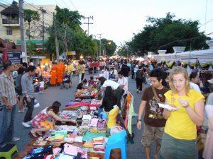 Chiang Mai lokale markt
