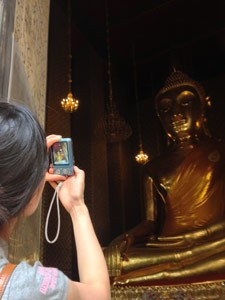 Buddha fotografie Thailand