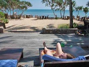 Luieren op Lanta Thailand
