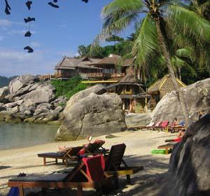 bungalow in Ko Tao Thailand
