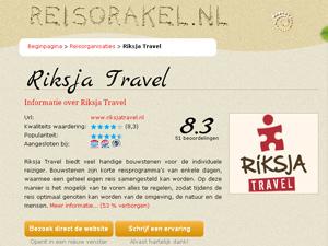 Reiservaring beoordeling Thailand
