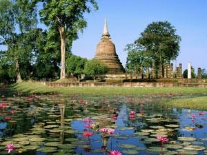 sukhothai tempel thailand reis
