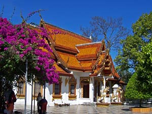 tempel Chiang Mai Thailand reis