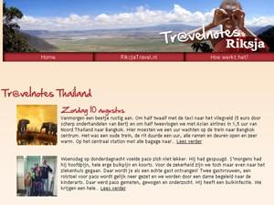 Thailand blog reiservaring