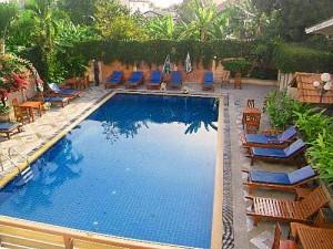 Zwembad Budget rondreis Chiang Mai Thailand
