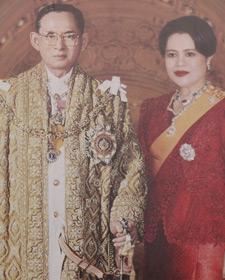 Thaise koning en koningin Thailand