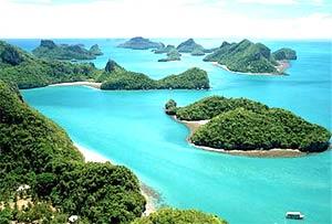 Eilanden Zuid Thailand rondreis