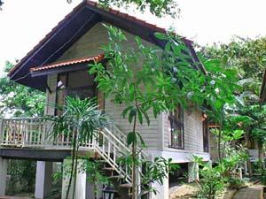 Ayutthaya bungalow Thailand
