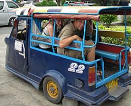 ayutthaya tuktuk Thailand Cambodja