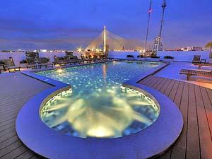 Zwembad Bangkok Thailand
