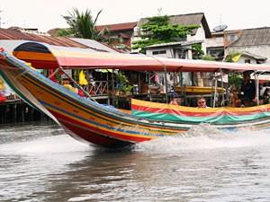 Boot Bangkok Chao Phraya River