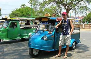 Tips Thailand tuk tuk