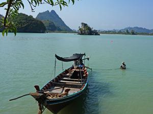 boottocht khanom Thailand