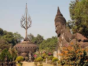 Buddha in Vientiane Laos